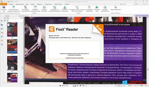 Στιγμιότυπο οθόνης Foxit Reader Windows 8