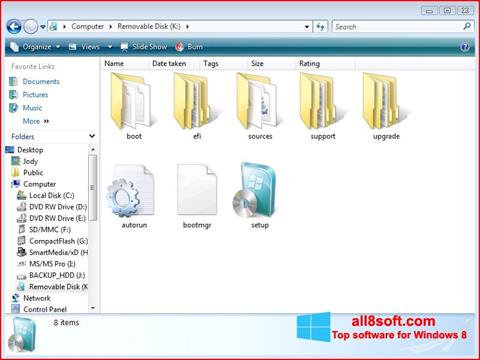 Στιγμιότυπο οθόνης Windows 7 USB DVD Download Tool Windows 8