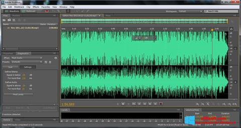Στιγμιότυπο οθόνης Adobe Audition Windows 8