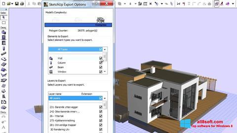 Στιγμιότυπο οθόνης ArchiCAD Windows 8