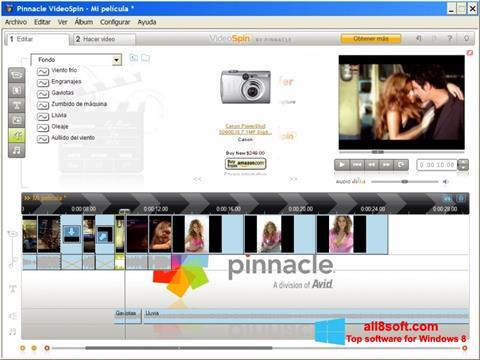Στιγμιότυπο οθόνης Pinnacle VideoSpin Windows 8