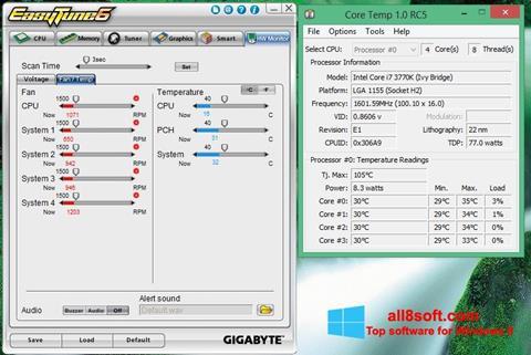 Στιγμιότυπο οθόνης EasyTune Windows 8