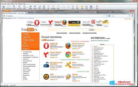 Στιγμιότυπο οθόνης FastStone Capture Windows 8