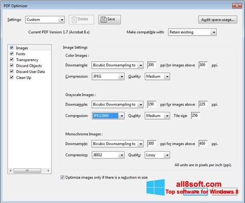 Στιγμιότυπο οθόνης Adobe Acrobat Pro DC Windows 8