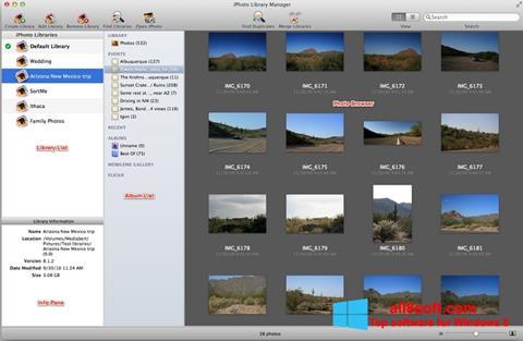 Στιγμιότυπο οθόνης iPhoto Windows 8