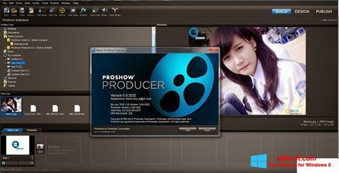 Στιγμιότυπο οθόνης ProShow Producer Windows 8