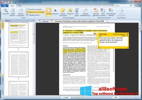 Στιγμιότυπο οθόνης Nitro PDF Reader Windows 8
