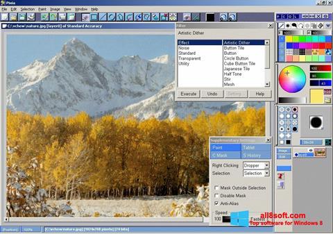Στιγμιότυπο οθόνης Pixia Windows 8