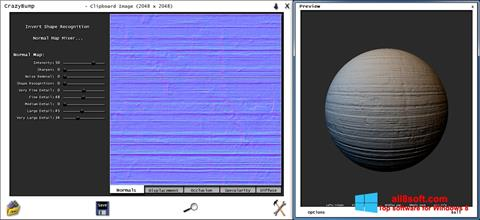 Στιγμιότυπο οθόνης CrazyBump Windows 8