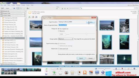 Στιγμιότυπο οθόνης Picasa Windows 8