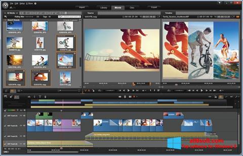 Στιγμιότυπο οθόνης Pinnacle Studio Windows 8