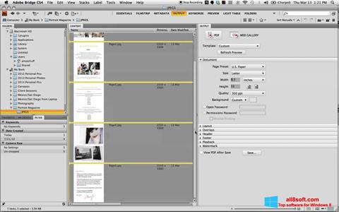 Στιγμιότυπο οθόνης PDF Combine Windows 8