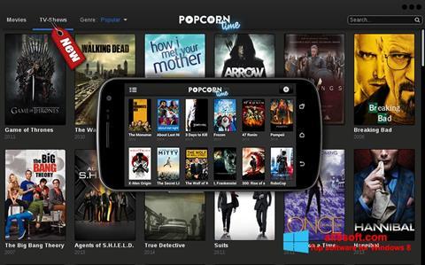 Στιγμιότυπο οθόνης Popcorn Time Windows 8