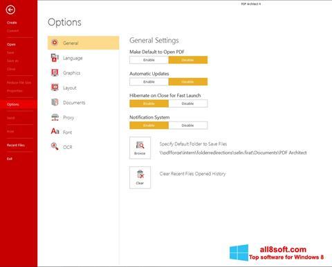 Στιγμιότυπο οθόνης PDF Architect Windows 8
