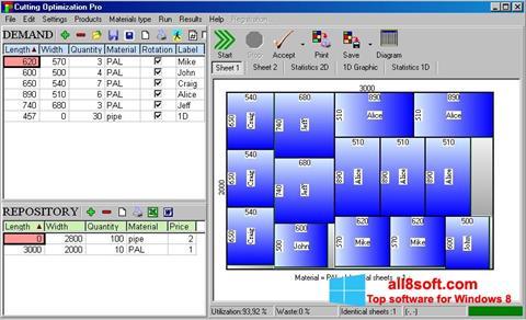 Στιγμιότυπο οθόνης Cutting Windows 8