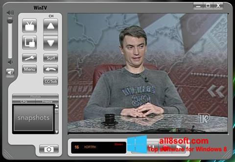 Στιγμιότυπο οθόνης Behold TV Windows 8
