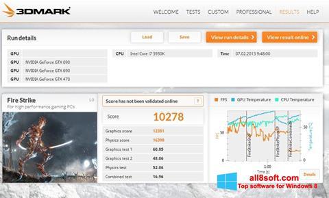 Στιγμιότυπο οθόνης 3DMark Windows 8