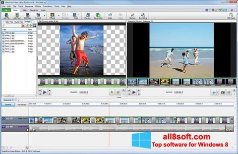 Στιγμιότυπο οθόνης VideoPad Video Editor Windows 8