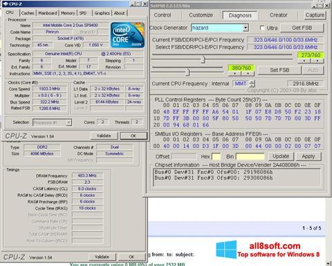 Στιγμιότυπο οθόνης SetFSB Windows 8