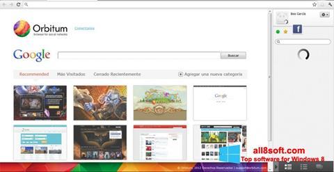 Στιγμιότυπο οθόνης Orbitum Windows 8