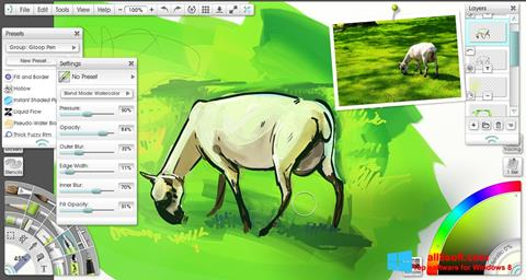 Στιγμιότυπο οθόνης ArtRage Windows 8