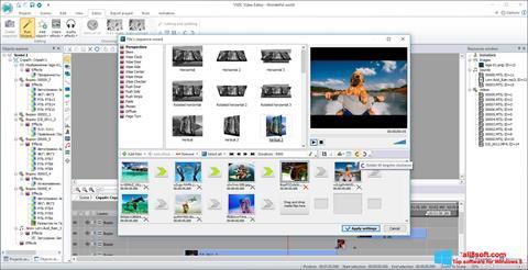 Στιγμιότυπο οθόνης VSDC Free Video Editor Windows 8