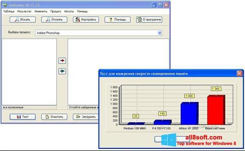 Στιγμιότυπο οθόνης ArtMoney Pro Windows 8