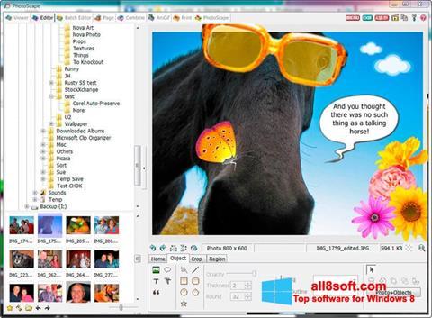 Στιγμιότυπο οθόνης PhotoScape Windows 8