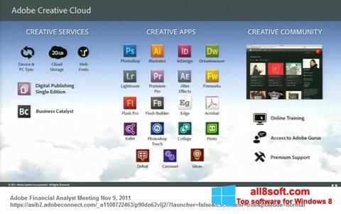 Στιγμιότυπο οθόνης Adobe Creative Cloud Windows 8