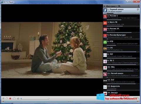 Στιγμιότυπο οθόνης IP-TV Player Windows 8