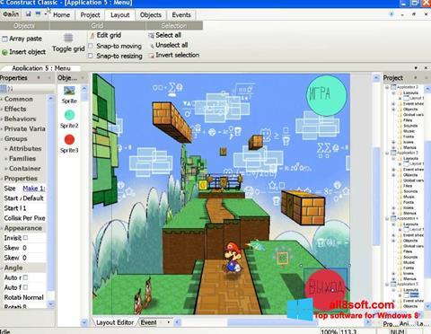 Στιγμιότυπο οθόνης Construct Classic Windows 8