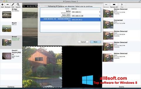 Στιγμιότυπο οθόνης IP Camera Viewer Windows 8