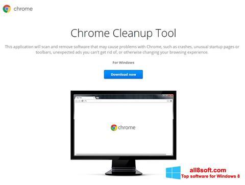 Στιγμιότυπο οθόνης Chrome Cleanup Tool Windows 8