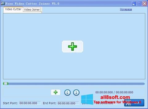 Στιγμιότυπο οθόνης Free Video Cutter Windows 8