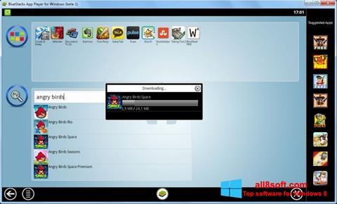Στιγμιότυπο οθόνης BlueStacks Windows 8