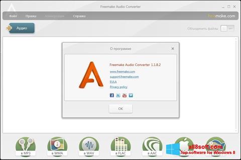 Στιγμιότυπο οθόνης Freemake Audio Converter Windows 8