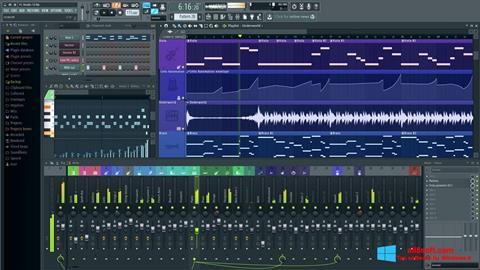 Στιγμιότυπο οθόνης FL Studio Windows 8