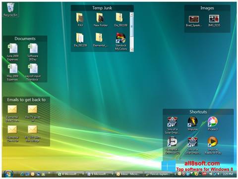 Στιγμιότυπο οθόνης Fences Windows 8