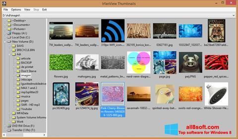 Στιγμιότυπο οθόνης IrfanView Windows 8