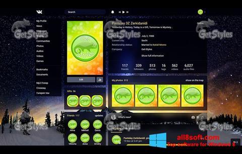 Στιγμιότυπο οθόνης Get Styles Windows 8