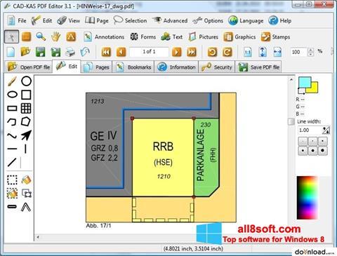 Στιγμιότυπο οθόνης PDF Reader Windows 8