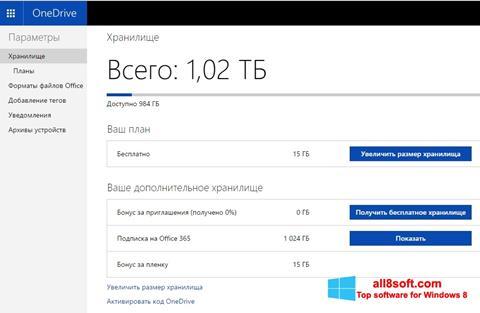 Στιγμιότυπο οθόνης OneDrive Windows 8