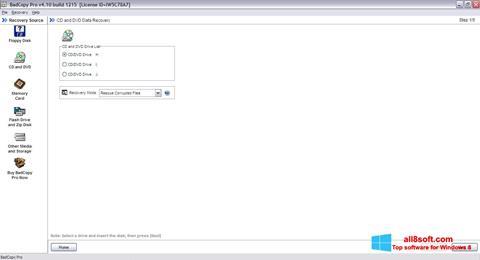 Στιγμιότυπο οθόνης BadCopy Pro Windows 8