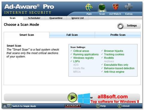 Στιγμιότυπο οθόνης Ad-Aware Windows 8