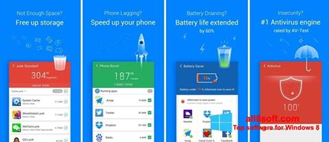 Στιγμιότυπο οθόνης Clean Master Windows 8