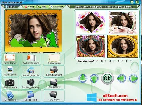 Στιγμιότυπο οθόνης Photo Booth Windows 8