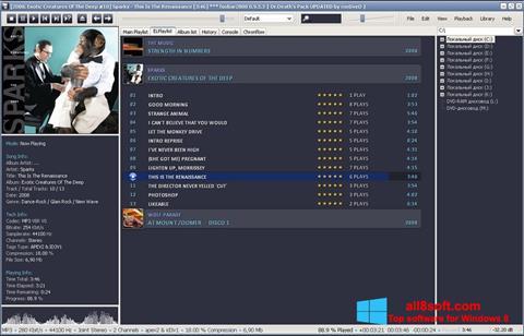 Στιγμιότυπο οθόνης Foobar2000 Windows 8
