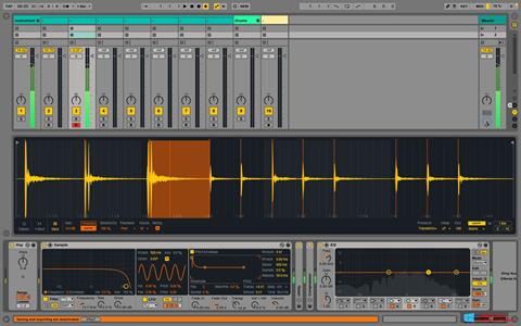 Στιγμιότυπο οθόνης Ableton Live Windows 8